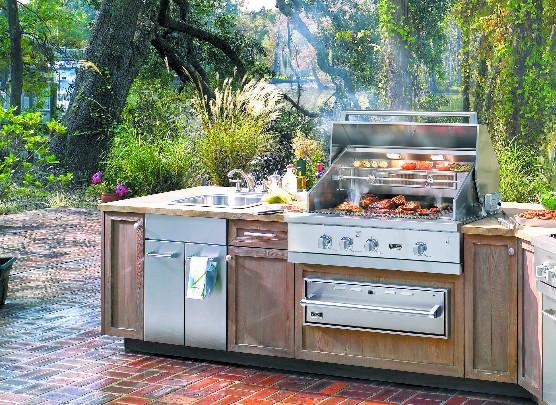 Complete Su Cocina Exterior Con La Colección Outdoor Dake